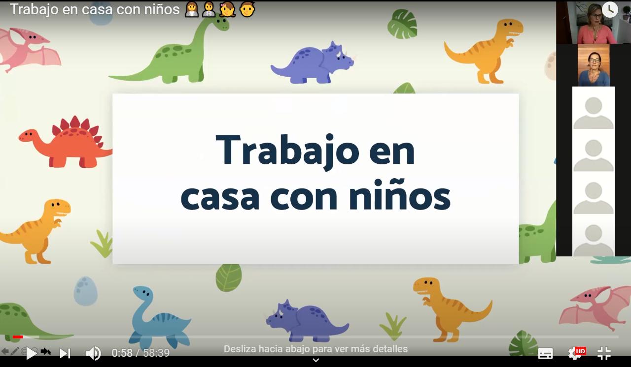TRABAJO EN CASA CON NIÑOS (VIDEO)